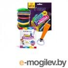 Funtasy Cleo + PLA-пластик 17 цветов и книжка с трафаретами 4-1-FPN04O-PLA-17-SB
