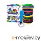 Funtasy Cleo + PLA-пластик 17 цветов и книжка с трафаретами 4-1-FPN04U-PLA-17-SB
