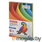 Цветная бумага Brauberg А4 100 листов 5 цветов 112461