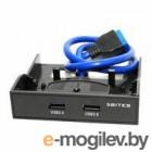 5bites FP183P, 3.5, 2*USB3.0 пластик