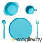 Набор детской посуды Dosh i Home Amila Kids Blue 400212