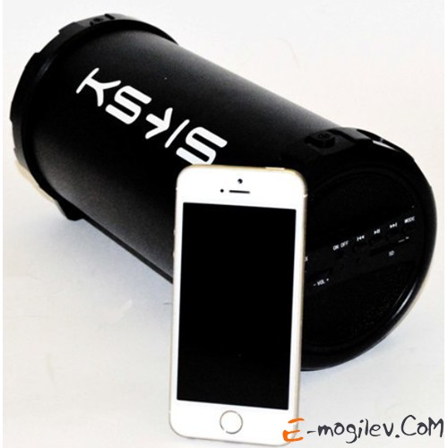 KS-is (KS-246), 9W, Li-ion 1000mAh батарея, Bluetooth, цвет черный