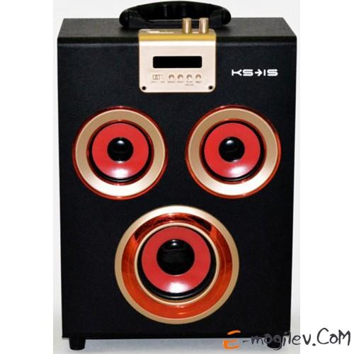 KS-is KS-249, 25W, Li-ion 1000mAh батарея, Bluetooth, цвет черный/красный