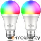 Комплект умных ламп Nitebird Smart bulb  2 шт., цвет мульти