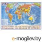 Интерактивная карта мира политическая с флагами DMB 1:30M ОСН1234793