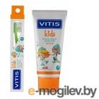 Зубная щетка Dentaid Vitis Kids + зубная паста Vitis Kids 10ml 33044
