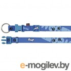 Trixie Modern Art Collar Woof 15221 M-L/Blue