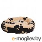 Лежанка для животных Trixie Sammy 37682 (Black-Beige)