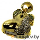 USB Flash Iconik Груша Golden Swarovski 16GB [MTFC-PEAR-16GB]