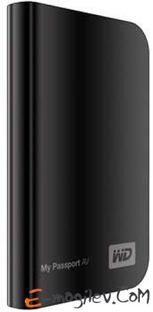 Western Digital 320Gb 2.5 WDBABS3200ABK-EESN Black
