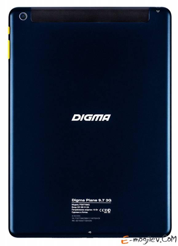"Digma Plane 9.7 3G  Dark  Blue MTK8382/1/8Gb/3G/Andr4.2/9.7"""