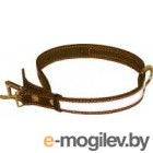 Collar 2496 (Brown, со светоотражающей лентой)