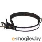 Ошейник Collar 2491 (черный, светоотражающая лента)