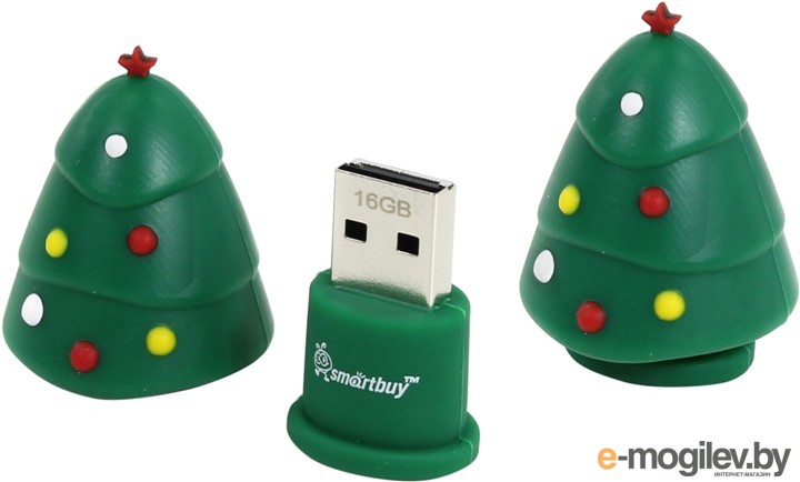 SmartBuy X'mas series <SB16GBXtree> USB2.0 16Gb