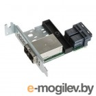 Переходная плата SuperMicro AOM-SAS3-8I8E-LP Ext. to Int. Mini-SAS HD Adapter (Low-profile) (AOM-SAS3-8I8E-LP)