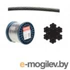 Трос стальной круглопрядный SWR M6 DIN 3055 (бухта/100м) (SMP-53676-100) (STARFIX)