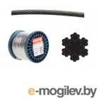Трос стальной круглопрядный SWR M4 DIN 3055 (бухта/200м) (SMP-53674-200) (STARFIX)
