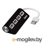USB-хаб Hama 12177 (черный)