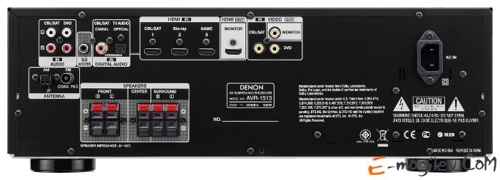 Denon AVR-1513 5.1 Черный