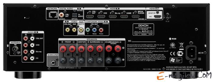 Denon AVR-2113 7.1 Черный