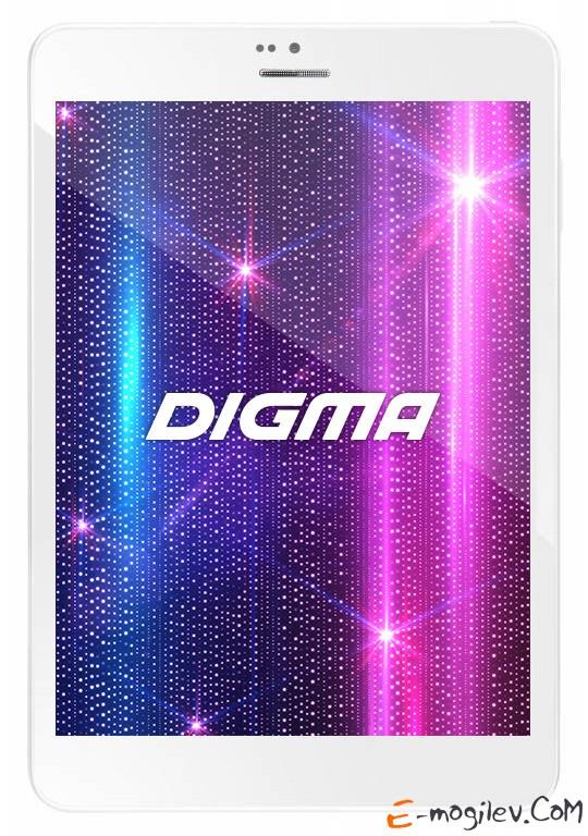 """Digma Plane 8.3 3G PS7840MG MTK8382 (1.3) 4C A7/RAM1Gb/ROM8Gb/7.85"""" IPS 1024*768/3G/WiFi/BT/0.3Mp/2Mp/GPS/And4.2/white/Touch/microSDHC 32Gb/GPRS/EDGE/UMTS/HSDPA/HSUPA/DLNA/mHDMI/mHDMI/HDMI/minUSB/5400mAh/8hr/100hrs"""