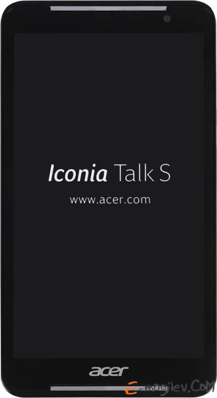 "Acer ICONIA Talk S A1-724 MSM8916 (1.2) 4C/RAM1Gb/ROM16Gb 7"" IPS 1280x720/3G/4G/WiFi/BT/5Mpix/2Mpix/GPS/Android 4.4/Blue/Touch/microSD/GPRS/EDGE/minUSB"