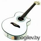 Электроакустическая гитара Oscar Schmidt OG10CEWH
