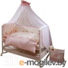 Комплект в кроватку Perina Тиффани Т3-01.3 (Неженка розовый)