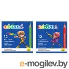Adel ADEALAND 211-2325-100 3мм 12 цветов короткие картонная коробка