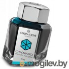 Флакон с чернилами Carandache CHROMATICS Hypnotic Turquoise (8011.191) чернила: бирюзовый (50мл)