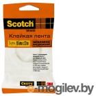 3M 500-1533 Scotch Эконом канцелярская прозрачная 15х33мм (7000039516)