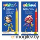 Adel ADEALAND 211-2335-000 3мм 6 цветов короткие картонная коробка