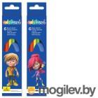 Adel ADELAND 211-2345-107 3мм 6 цветов 2 дизайна упаковки карт. коробка/европод.