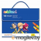 Adel ADELAND 428-1818-100 шестиугольные 18 цветов пластиковая сумочка