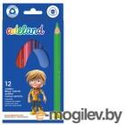 Adel ADELAND Jumbo 211-7510-110 трехгран. 5.4мм 12 цветов коробка/европодвес