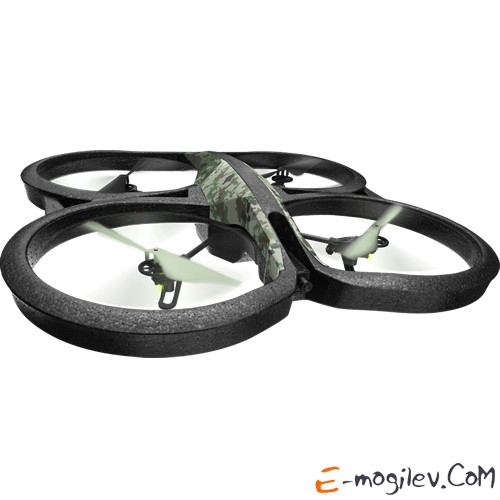 Квадрокоптер Parrot AR.DRONE 2.0 Elite Edition Jungle (PF721822BI)