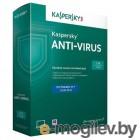 Kaspersky Anti-Virus 2015. 2-Desktop 1 year Base License