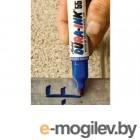Маркер перманентный фетровый КРАСНЫЙ DURA-INK 55 (толщина линии 1.5/4.5 мм) (MARKAL)