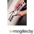 Маркер перманентный фетровый ЧЕРНЫЙ DURA-INK 60 (толщина линии 3 мм) (MARKAL)