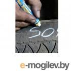 Маркер на основе твердой краски для шин БЕЛЫЙ (толщина линии 12.7 мм) (MARKAL)