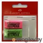 Ластик Faber-Castell 263397 флуоресцентный в блистере 2шт