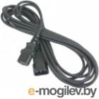 Gembird/Cablexpert PC-189-VDE-5M, 5м, C13-C14, VDE, 10А, черный, с заземлением