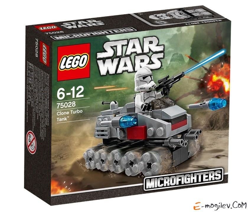 Турбо танк клонов (Clone Turbo Tank) LEGO Star Wars 75028