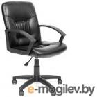 Кресло офисное Chairman 651 (экокожа, черный)
