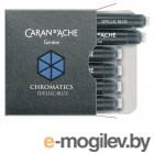 Картридж Carandache CHROMATICS Iddyllic Blue (8021.140) для перьевых ручек (упак.:6шт)