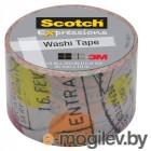 3M C314-P1 Scotch Washi, 30мм x 10м, путешествие (7000048132)