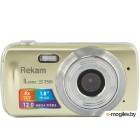 Rekam iLook S750i золотистый 12Mpix 1.8 SD CMOS/AAA