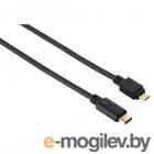 Кабель USB3.1 Hama 00135713 USB Type-C/USB 2.0 Type Micro 0.15м экран. Позолоченные контакты