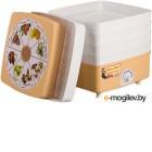 Сушилка для овощей и фруктов Ротор-Дива-Люкс СШ-010, 3 поддона, цветная упаковка, вент, Барнаул