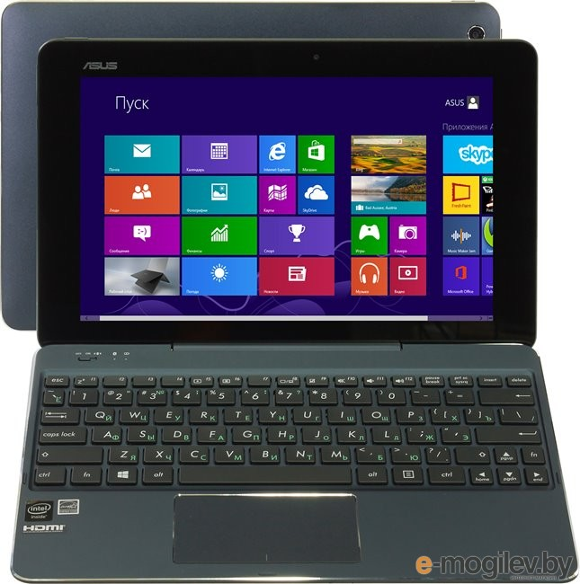 ASUS Transformer Book T100CHI (90NB07H1-M00910) Atom Z3775/2/64SSD/Win8/10.1